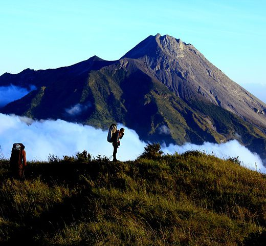 Savannah Hikers Merbabu Merapi Volcano